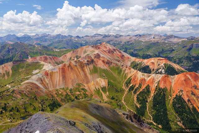 Brown Mountain, Colorado, Red Mountain, San Juan Mountains