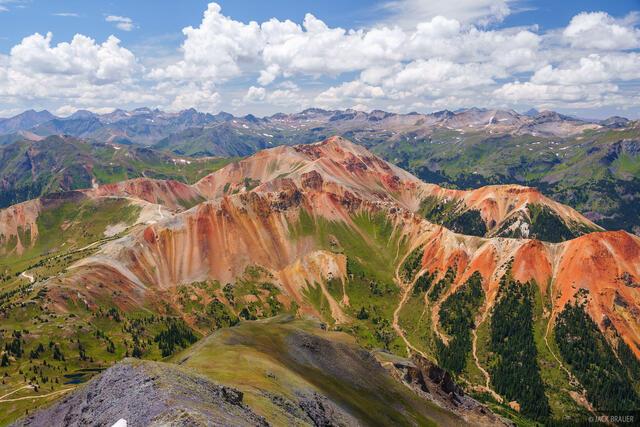 Brown Mountain, Colorado, Red Mountain, San Juan Mountains