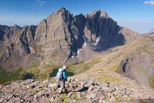 Colorado, Crestone Needle, Crestone Peak, Humboldt Peak, Sangre de Cristos, 14er, hiking, Sangre de Cristo Wilderness
