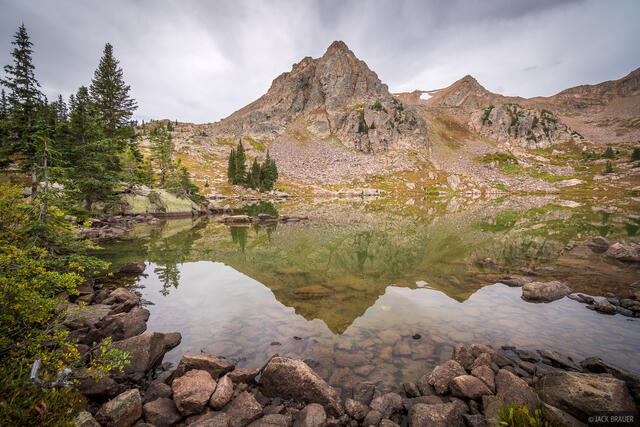 Colorado, Gore Lake, Gore Range, Eagles Nest Wilderness