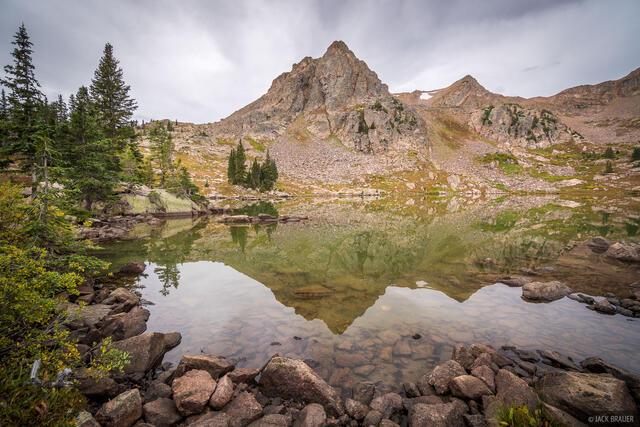 Colorado, Gore Lake, Gore Range, Eagles Nest Wilderness