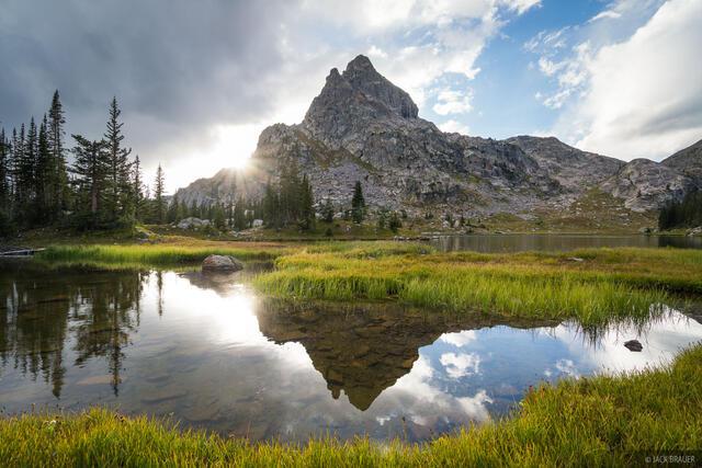 Colorado, Indian Peaks, reflection