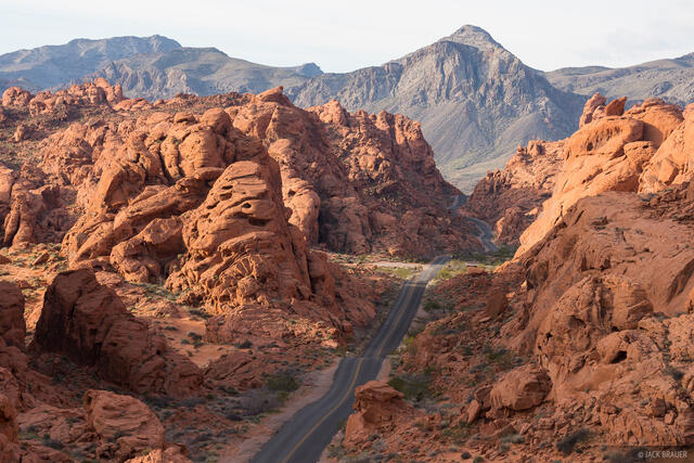 Nevada, Valley of Fire, road, White Domes Road