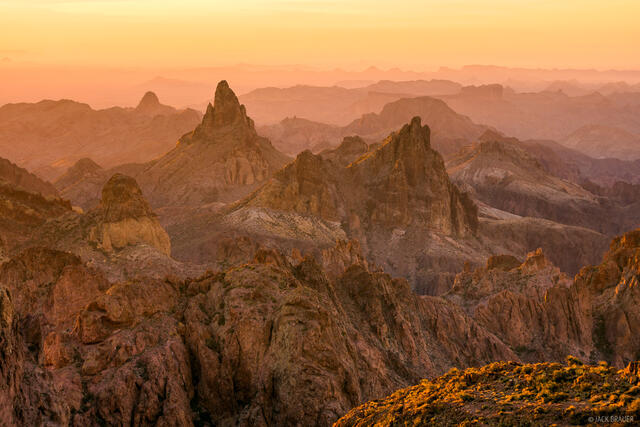Arizona, Kofa National Wildlife Refuge, Signal Peak, Squaw Peak, Kofa Mountains
