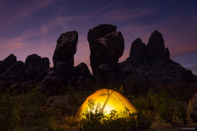 Arizona, Superstition Mountains, Superstition Wilderness, tent
