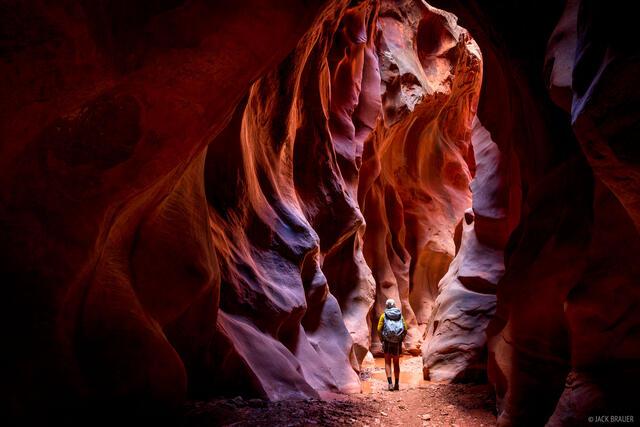 Buckskin Gulch, Paria Canyon-Vermilion Cliffs Wilderness, Utah, Vermilion Cliffs National Monument, hiking