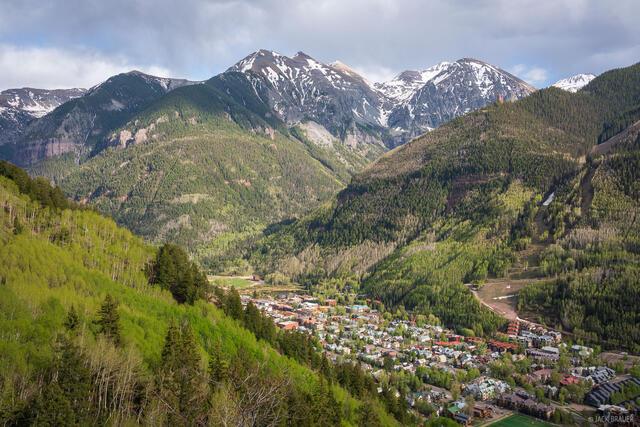 Colorado, San Juan Mountains, Telluride