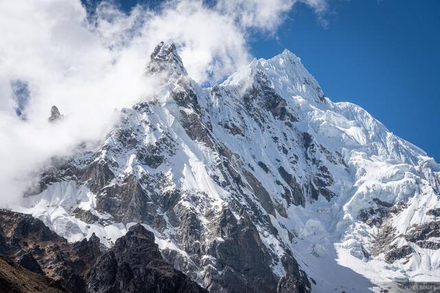 Cordillera Vilcabamba, Nevado Salkantay, Peru, South America