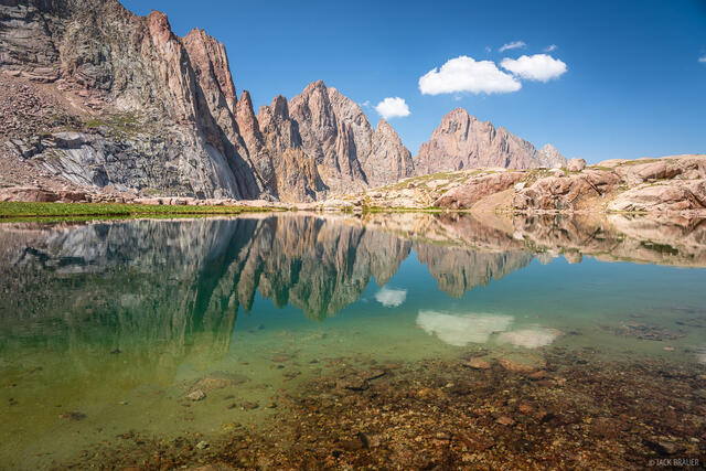 Colorado, Needle Mountains, Pigeon Peak, San Juan Mountains, Turret Needles, Turret Peak, Weminuche Wilderness