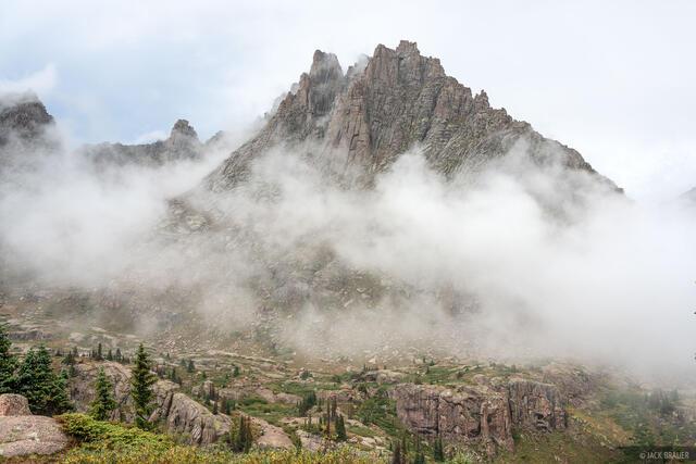 Colorado, Jagged Mountain, Needle Mountains, San Juan Mountains, Weminuche Wilderness