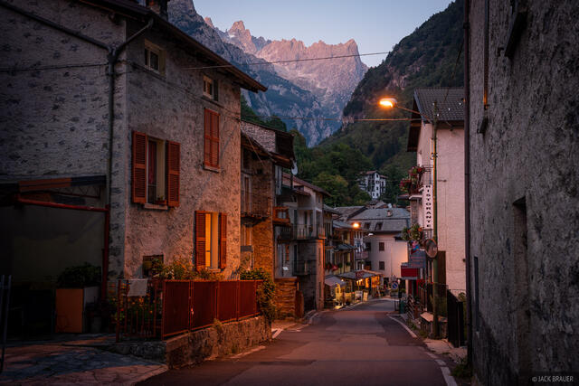 Italy, Rhaetian Alps, San Martino, Val Masino