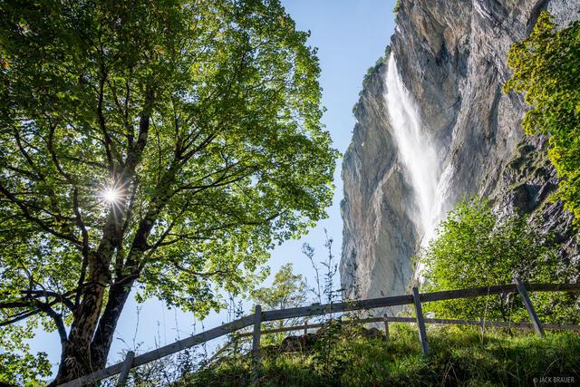 Bernese Alps, Lauterbrunnen, Lauterbrunnental, Staubbachfall, Switzerland, waterfall, Bernese Oberland, Alps