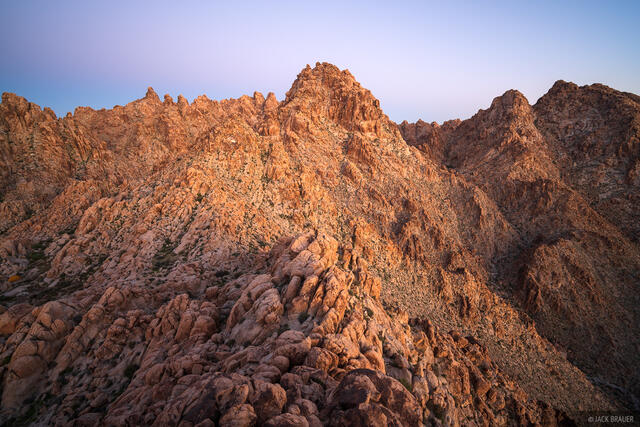 California, Coxcomb Mountains, Joshua Tree National Park, Mojave Desert