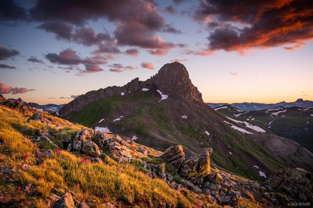Colorado, San Juan Mountains, Uncompahgre Wilderness, Wildhorse Peak