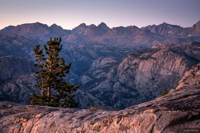Bridger Wilderness, Photographers Point, Wind River Range, Wyoming