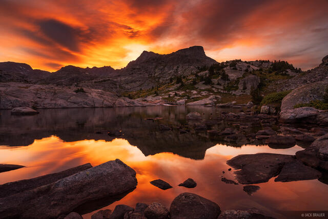 Bridger Wilderness, Ellingwood Peak, Wind River Range, Wyoming