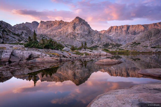 Bridger Wilderness, Wall Lake, Wind River Range, Wyoming