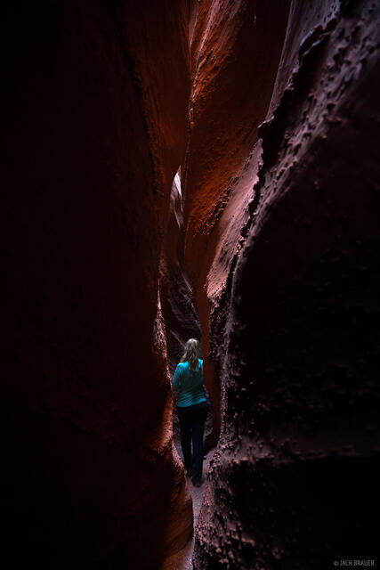 Grand Staircase - Escalante National Monument, Spooky Canyon, Utah, hiking, Escalante