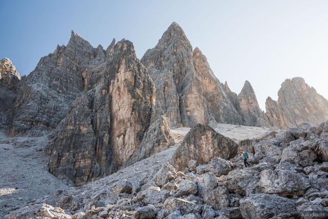Croda da Lago, Dolomites, Italy, hiking, October, Alps