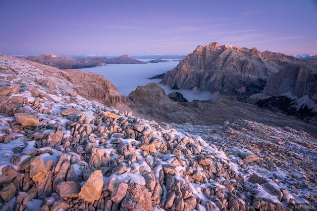 Dolomites, Italy, Lagazuoi, Piz Conturines, November, Alps