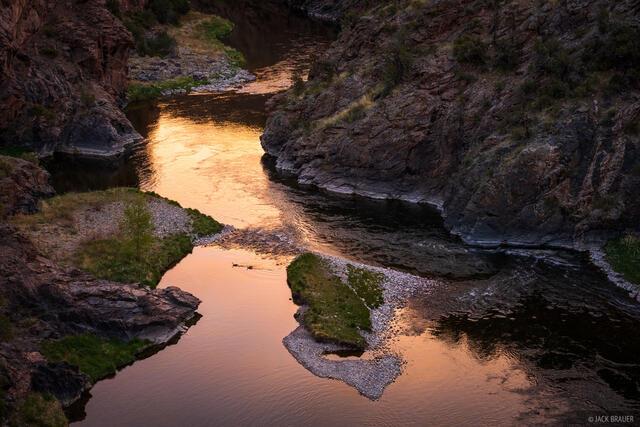 Colorado, Gunnison Gorge, Gunnison River