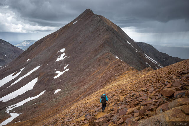 Colorado, Lizard Head Wilderness, San Juan Mountains, San Miguel Range, hiking
