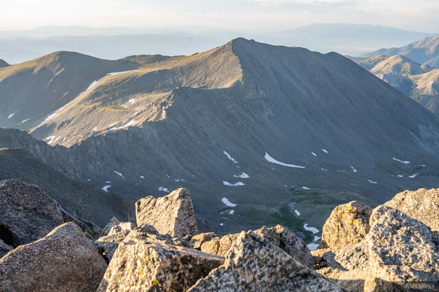 Collegiate Peaks Wilderness, Colorado, Mount Columbia, Mount Harvard, Sawatch Range, fourteener