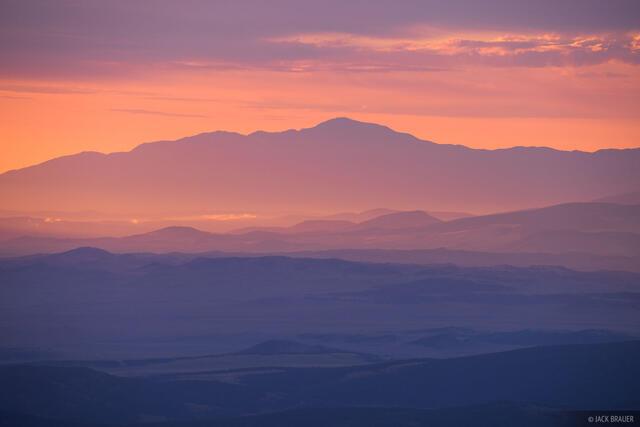 Collegiate Peaks Wilderness, Colorado, Mount Harvard, Pikes Peak, Sawatch Range, 14er