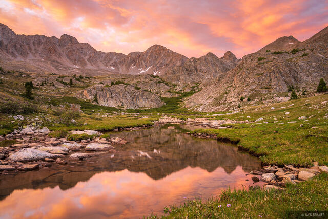 Collegiate Peaks Wilderness, Colorado, Missouri Basin, Sawatch Range, sunrise