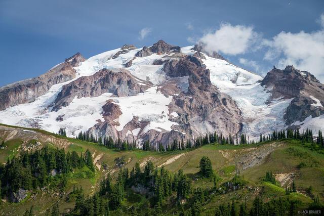 Glacier Peak, Glacier Peak Wilderness, Washington, Cascades