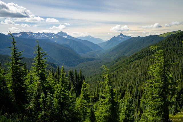 Glacier Peak Wilderness, Mount Pugh, Washington, White Chuck Mountain, Cascades