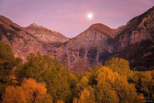 Colorado, San Juan Mountains, autumn, fall, Telluride