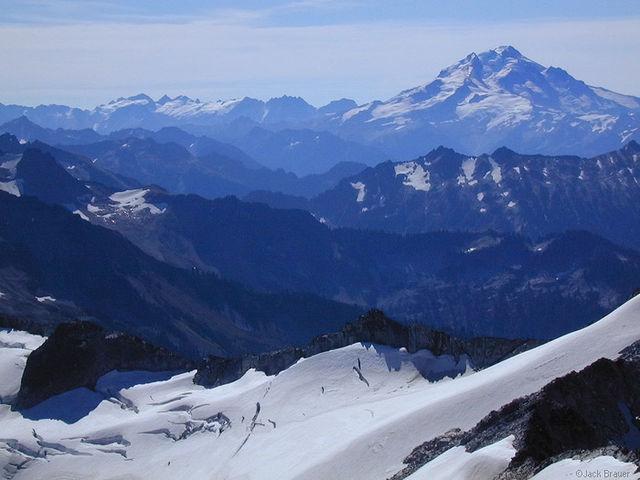 Glacier Peak, Snowking Mtn., Washington, Cascades