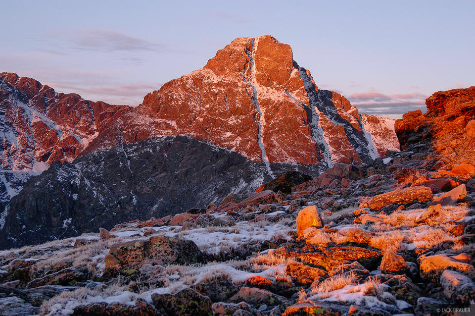 Mount of the Holy Cross, alpenglow, Vail, Sawatch Range, Colorado, Holy Cross Wilderness