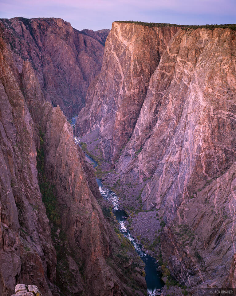 Painted Wall, North Rim, Black Canyon of the Gunnison, Colorado