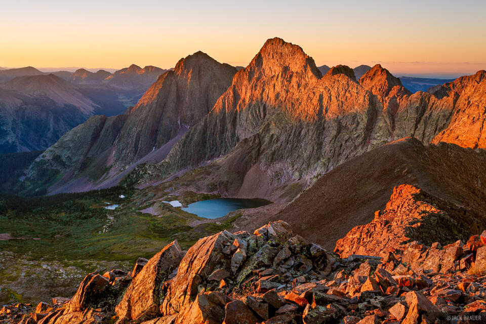 Storm King Peak, San Juan Mountains, Colorado, Grenadier Range, Peak Three