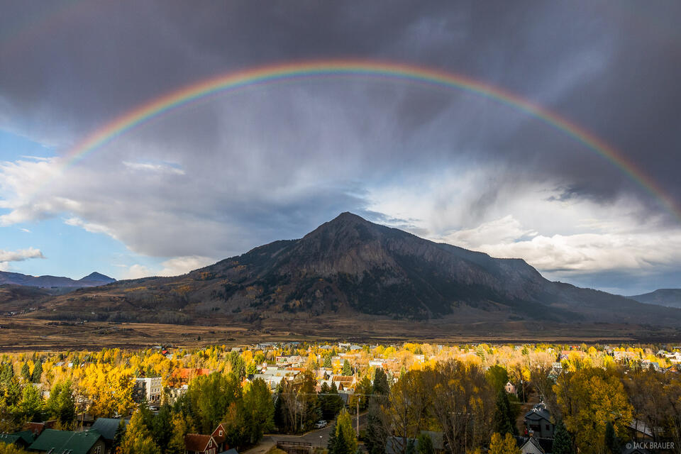 Colorado,Crested Butte,rainbow, October