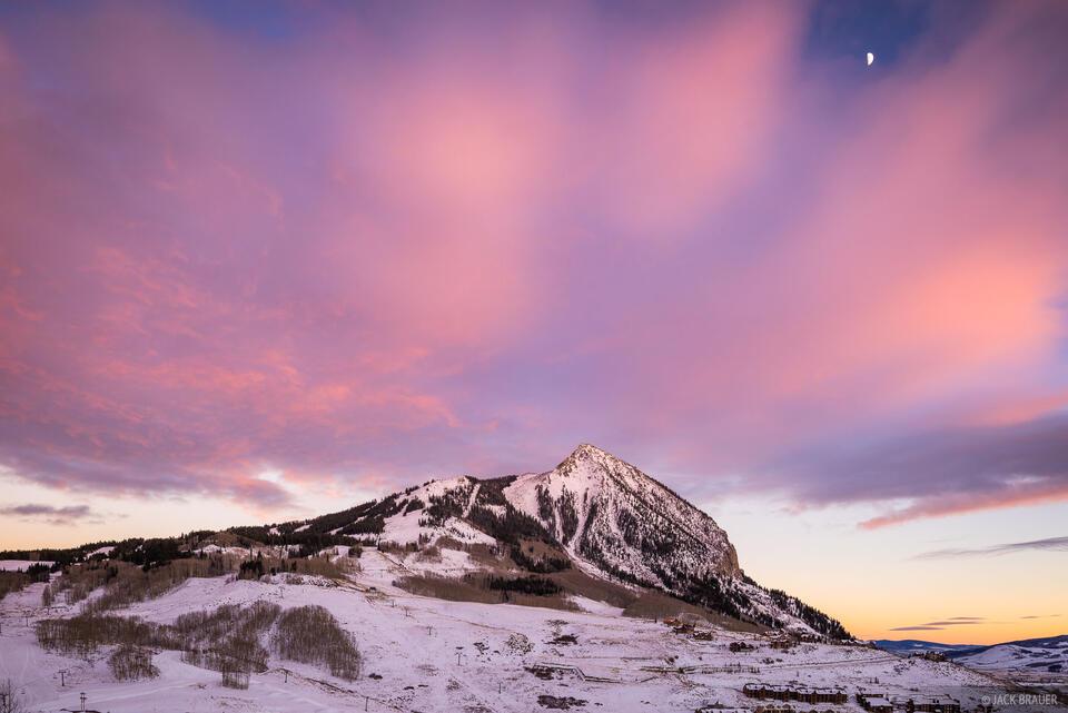 Colorado,Crested Butte, sunset