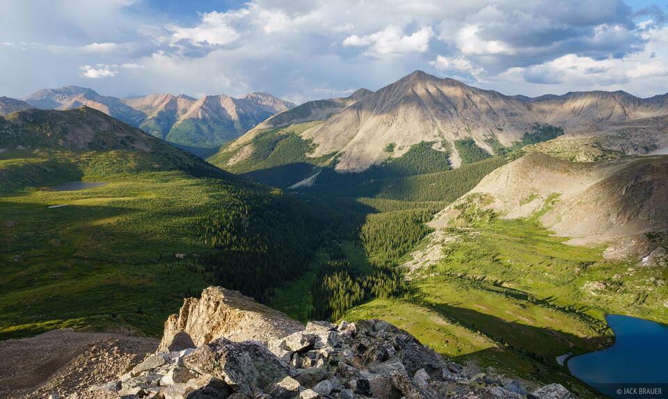 Collegiate Peaks Wilderness, Colorado, Huron Peak, Sawatch Range, Lake Ann, La Plata Peak, South Fork Clear Creek