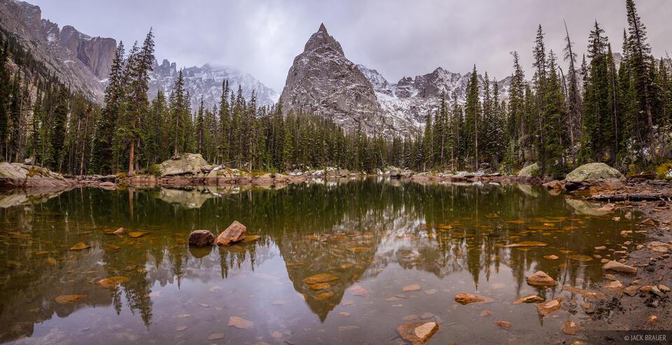 Colorado, Indian Peaks, Lone Eagle Peak, Indian Peaks Wilderness, panorama