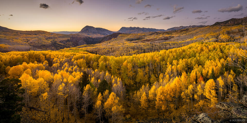 Colorado, Elk Mountains, Kebler Pass, October, Ruby Anthracite Creek, Marcellina Mountain, Raggeds Wilderness, aspens