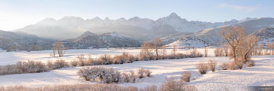 Colorado, Mount Sneffels, San Juan Mountains, Sneffels Range, panorama, Ridgway