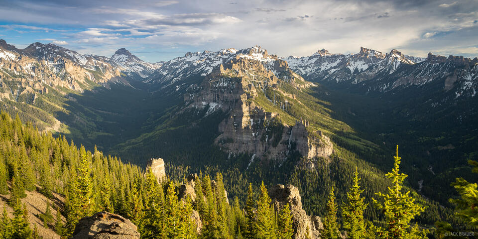 Cimarrons, Colorado, Precipice Peak, San Juan Mountains, Uncompahgre Peak, Uncompahgre Wilderness