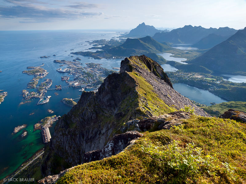 Svolvær, Fløya, Austvågøya, Lofoten, Norway