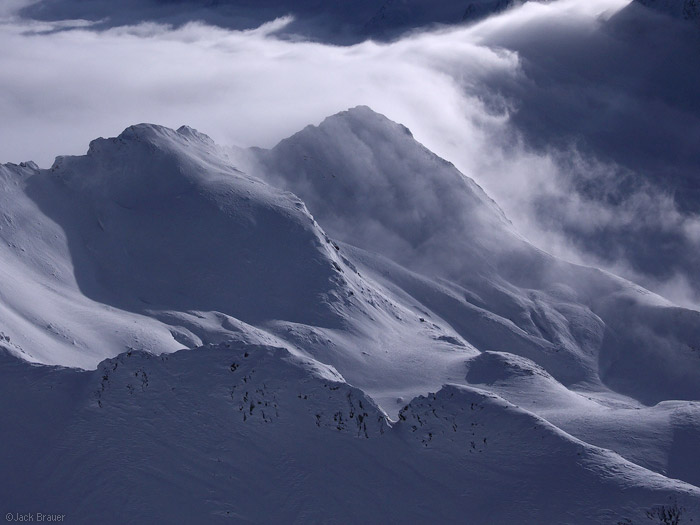 Obergurgl, Austria, clouds, photo