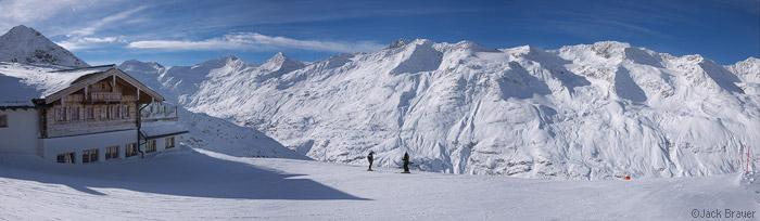 Hohe Mut Alm, Obergurgl, Austria, panorama, photo