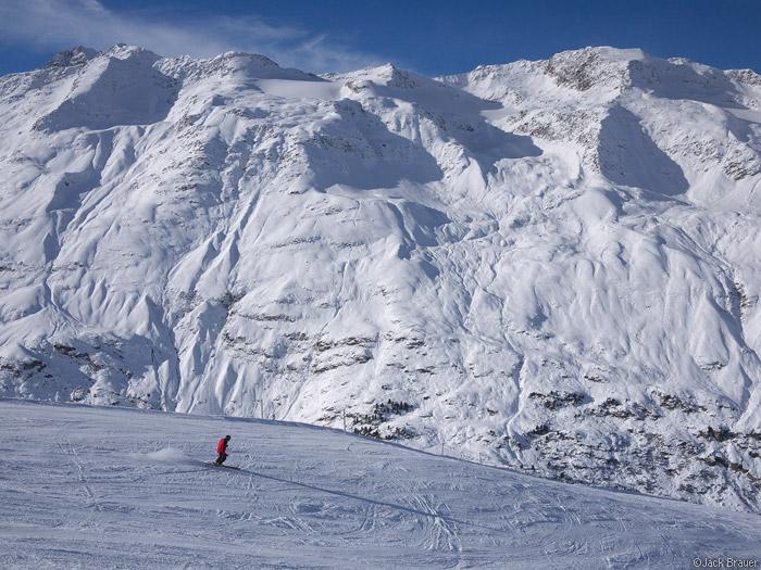 Obergurgl, Austria, skier