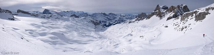 Griessental, panorama, Engelberg, Switzerland, glacier, Ruchstock