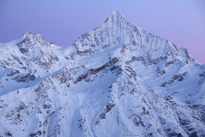 Weisshorn, Zermatt, Switzerland, rugged