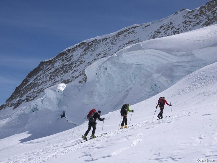glacier, Bernese Oberland, Switzerland